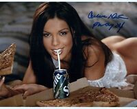 Carmella DeCesare Signed Photo 8x10 73 Playmate of the Month April 2003 WWE S.I.