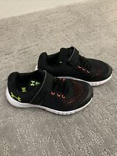 Under Armour Boys Athletic Sneakers Tennis Shoes Running Shoes Black Size 11