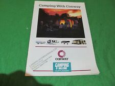 Camping with Conway Magazine
