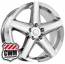 "20 inch 20x9"" OE Performance 129C Grand Cherokee SRT8 Chrome Wheels Rims 5x127"