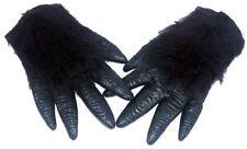 Gorilla Monkey Ape Wild Animal Rubber Hands Fancy Dress Prop Accessory
