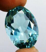 Brilliant Cut 422.00 CT Natural Aquamarine Ocean Blue Oval Cut Loose Gems N-2196