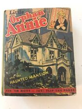 Little Orphan Annie And The Haunted Mansion #1482 Better Little Book 1941