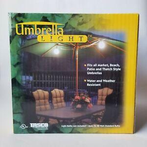Outdoor Lights for Patio Umbrella - Garden