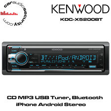 KENWOOD KDC-X5200BT - CD MP3 USB Sintonizzatore Bluetooth iPhone Android Auto Stereo