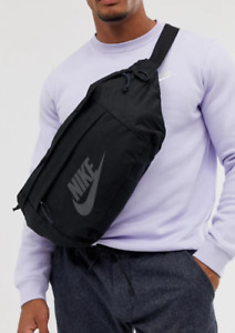 Nike Heritage Casual Large Bum Bag - Black / White