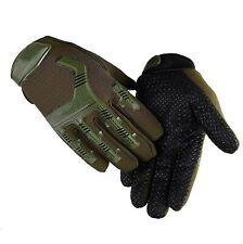 Guanti Tattici Tactical Gloves XL  MFF Softair Security Antiscivolo GREEN MECHA