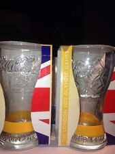 Coca Cola Glass London Olympics 2012 Edition Clear - Bnib 2011 Yellow Wristband
