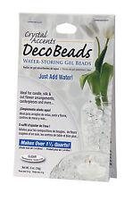 Vase Filler - Water Storing Gel Beads - Clear White