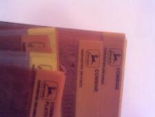 John Deere Parts Catalog Combine- Pick The One You Want Microfiche Fiche Manual