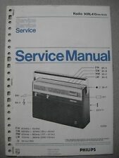 Philips 90 RL410 Kofferradio Service Manual