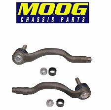For BMW E46 325xi 330xi Front Outer Left & Right Steering Tie Rod Ends Moog