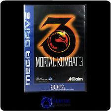 Mortal Kombat 3 (Mega Drive) Very Good - Fighting - Rare Retro Game