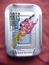 Boite de sardines Les ARTS DINENT à l' huile  millésime 2007 Douarnenez PLEINE