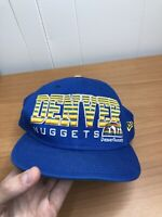 NBA Denver Nuggets Mitchell & Ness Snapback Hat Hardwood Classics