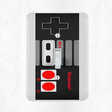 Nintendo NES Controller Light Switch Cover Plate Duplex Outlet Video Game New