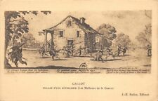 CALLOT - Saqueo de una hosteleria - Las desgracias de la guerra