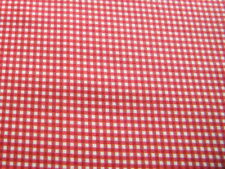 Crafts Check/Plaid Fat Quarter 100% Cotton Fabric