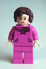LEGO Professor Dolores Umbridge minifigure from Harry Potter -- Hard to find!