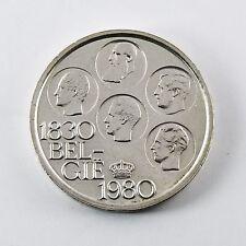 Pièce argent Belgique 500 francs 5 rois 1830 indépendance version flamande