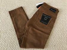 NWT Men's Hawk's Bay Tobacco Brown Denim Classic Stretch Skinny Jeans ALL SIZES