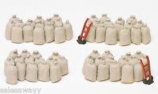 Preiser 17102 sacs, 60 pièces, KIT DE MONTAGE, H0