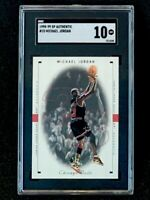 1998 Upper Deck SP Authentic #10 Michael Jordan SGC 10 Pop 2