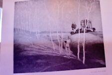 1909 orig.Illustration Carl Max REBEL Ganymede Assia Spiro Schneverdingen