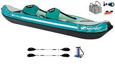 Sevylor Madison Kajak Kanu Schlauchboot + 2 Alu Doppelpaddel K-Perf 230 + Pumpe