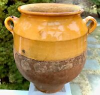 FRENCH ANTIQUE POT CONFIT POTTERY EARTHENWARE ENGLISH TERRE VERNISSEE GLAZE EWER