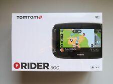 TOMTOM RIDER 500 4.3″ Motorcycle SatNav/GPS+WiFi.EU Maps/Traffic/Speed Cameras