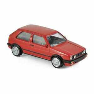 1/43 Norev Volkswagen Golf GTI G60 1990 Rouge Neuf Boite Livraison Domicile