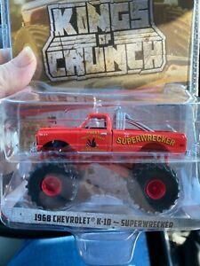 Greenlight Kings Of Crunch 1968 Chevrolet K-10 Superwrecker Target chase