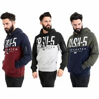 New Mens Crosshatch Hoodie Designer Casual Pullover Branded Hooded Sweatshirt