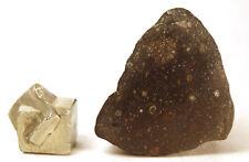 Very nice meteorite Rumuriti R3-4 NWA 11476 half individual 16.9g