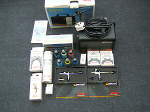 Hansa (Harder & Steenbeck) Professional Air Brush Kit