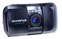 Olympus Mju I 35 mm f 3,5 Point and Shot Camera Tested / Working TOP