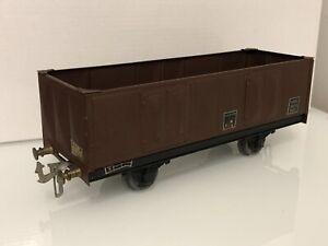 Jouet Ancien train en tôle Wagon GMP O