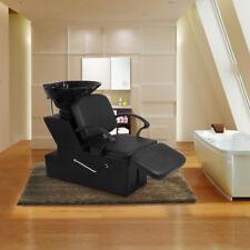 Esright Shampoo Chair Backwash Sink Adjustable Footrest Salon&Spa barber Chair