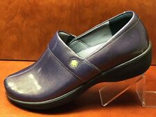 Work Wonders by Dansko Women Metallic Purple Size EU 41 US 11 Nursing Shoes