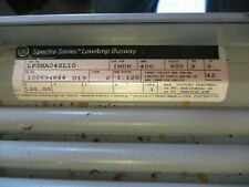 GE LP3HA04SL10, 400 Amp, 600 Volt, 3PH3W, Plug In, 10 FT, Bus Duct- WARRANTY