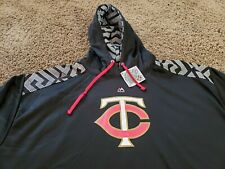 Minnesota Twins Majestic Thermabase Hoodie Sweatshirt Size 3XL - New With Tags