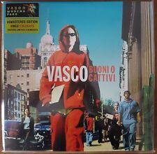 VASCO ROSSI - Buoni o cattivi 2 LP VINILE COLORATO N° COPIA 0562 2017 SIGILLATO