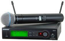 Shure SLX24/BETA58-J3 Wireless Handheld Vocal Microphone System  Make Offer