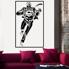 VINILO DECORATIVO PARED SALÓN DECORACIÓN SUPERMAN COMIC STICKER DECAL VINILOS