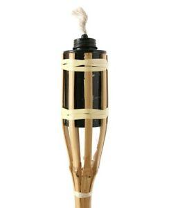 10 pcs Garden Bamboo 90 cm Torch Oil Light Flame Outdoor