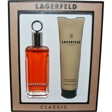 Lagerfeld EDT Spray 3.3 oz & Shower Gel 5 oz