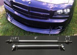 """Silver 8""""-11"""" Strut Support Rod Bar for Subaru Mazda Bumper Lip Diffuser Spoiler"""