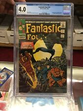Fantastic Four (1st Series) #52 1966 CGC 4.0 1st Appearance BLACK PANTHER 07/66