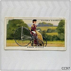 Player Cycling Cigarette Card #7 Singer Tricycle (CC97)